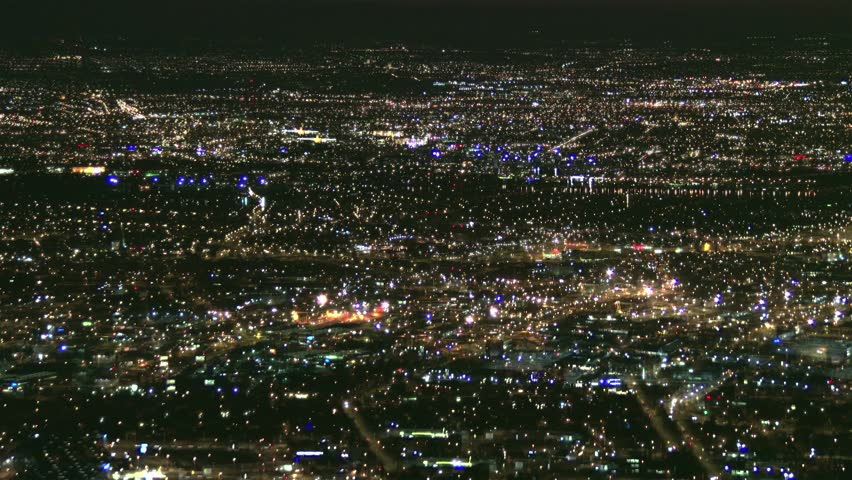 4K Huge City Metropolis Power Outage Blackout Real city 4K Sony FDR-AX1 footage composite
