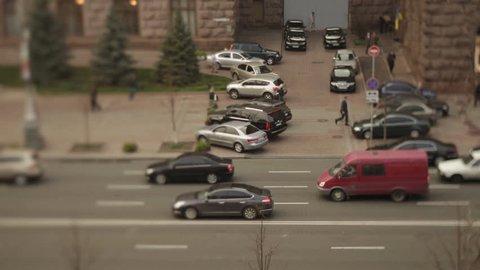 city time lapse traffic