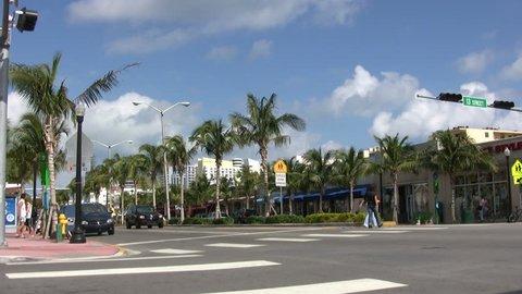 MIAMI, FLORIDA - JAN 22, 2007: Miami, United States