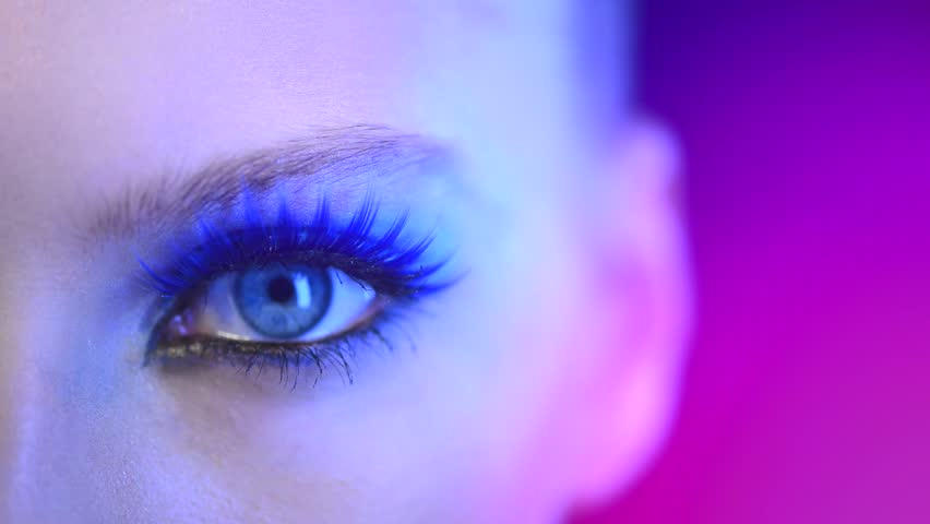 Beauty Woman Eye Makeup Beautiful Stock Footage Video 100 Royalty Free 5578511 Shutterstock