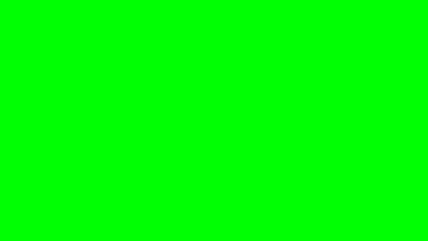 Falling Hearts - Green Screen | Shutterstock HD Video #5590499