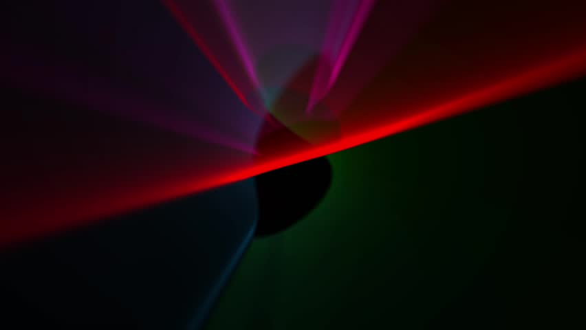 Abstract blur spots are moving on black background | Shutterstock HD Video #5607308