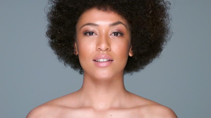 African american nude lip