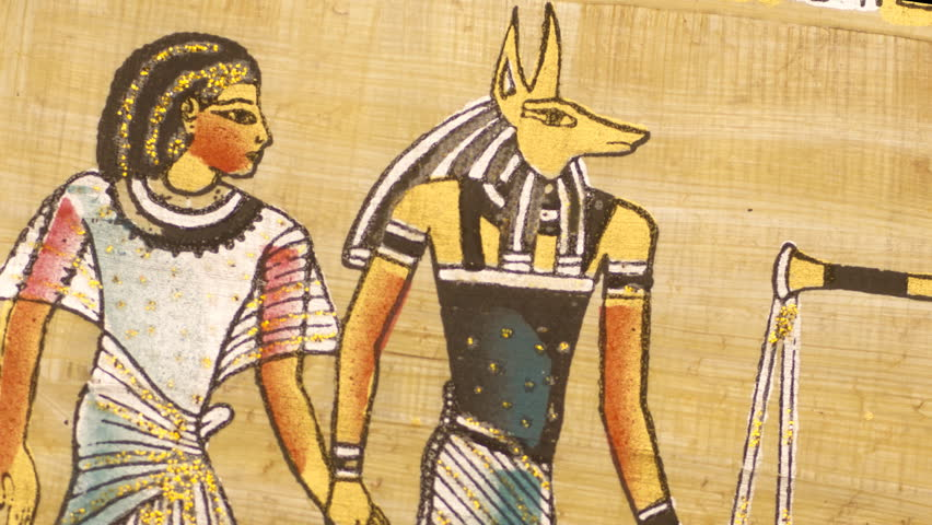 Ancient Egyptian themed background montage Royalty-Free Stock Footage #5674328