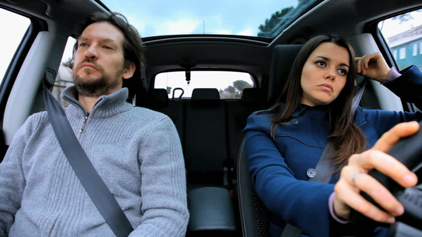 Couple in Car Angry with Stock Footage Video (100% Royalty-free) 5679659    Shutterstock