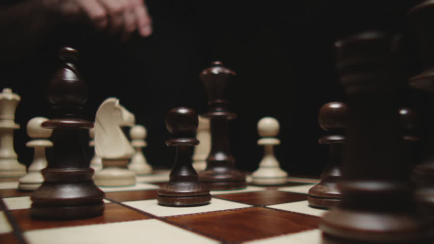 Stock footage chessboard and chess pieces   Shutterstock HD Video #5686694