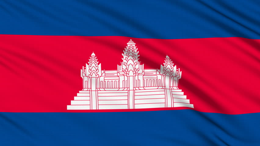 флаг камбоджа фото для помещения