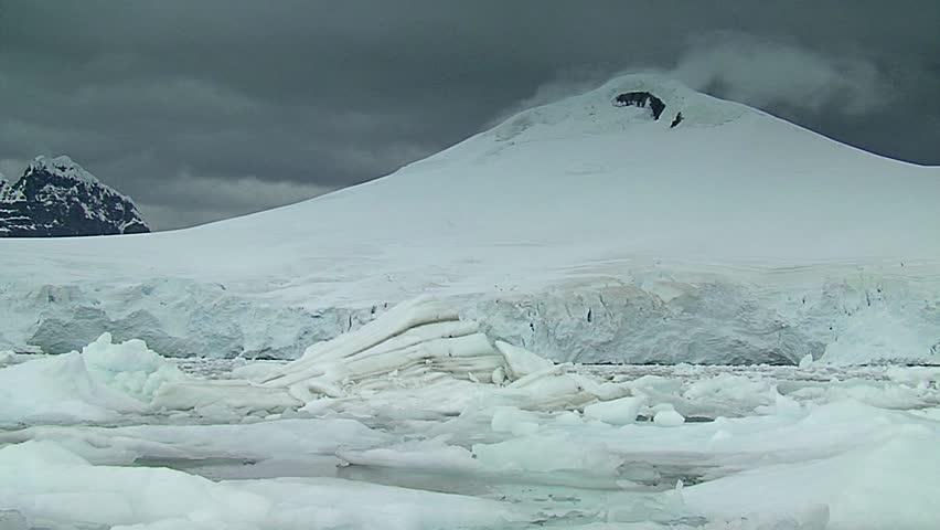 Icebergs in Antartica