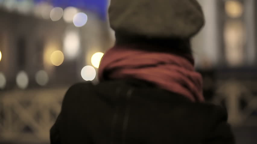 Woman uses smartphone to take a photo at night | Shutterstock HD Video #5749430