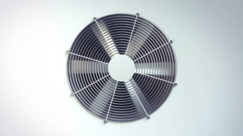 air conditioning fan ventilation animation.