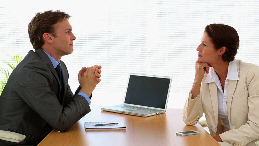 Business People Talking Together at Stock Footage Video (100% Royalty-free)  5894315 | Shutterstock