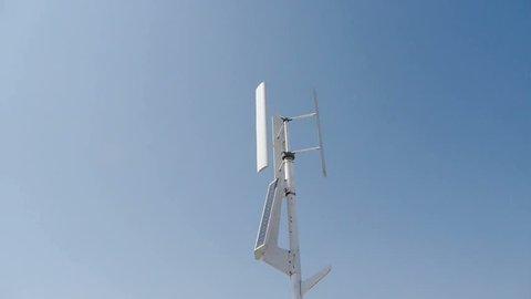 Wind solar turbine and new power energy. gh2_01412