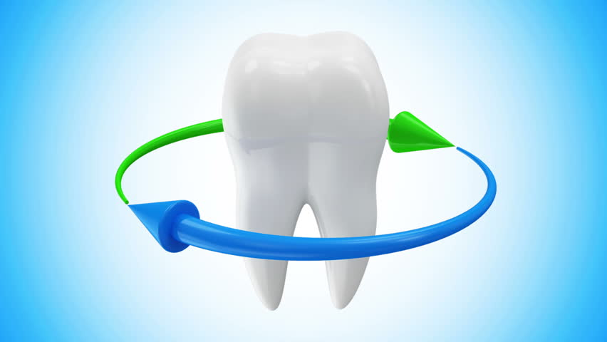 Animation Of Tooth Rotation With Stock Footage Video 100 Royalty Free 5951489 Shutterstock