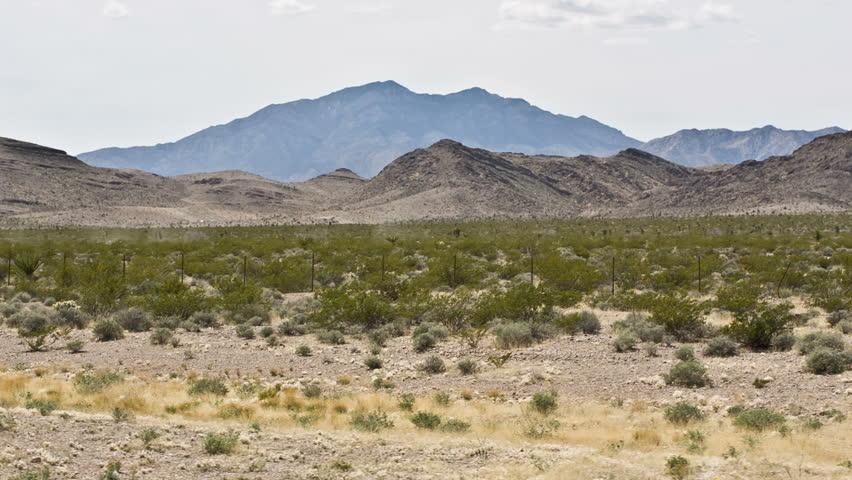 Desert Mountain from Car