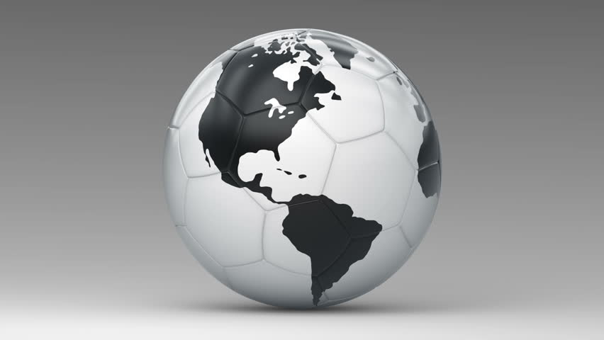 Soccer ball. Looping. Alpha channel included. | Shutterstock HD Video #5982455