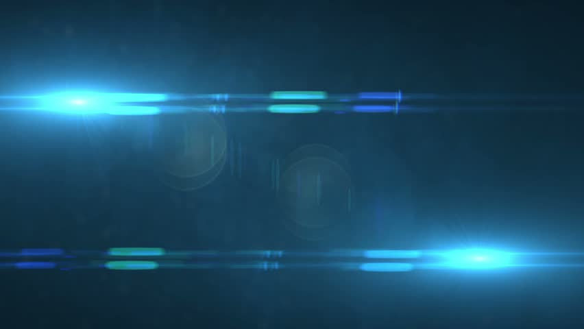 Colorful Optical Flares Abstract Motion Blue Background Animated Computer Design Abstract Background | Shutterstock HD Video #5997293
