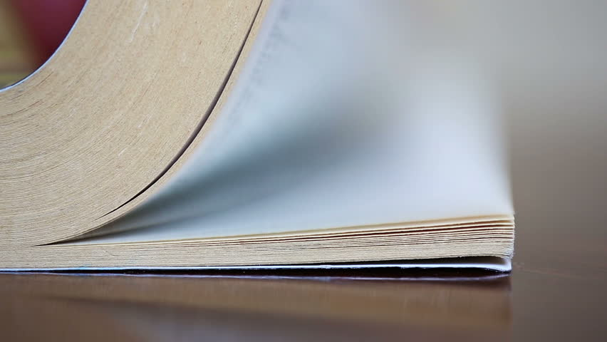 Book, flying pages. Shallow DOF. Canon 5D MK III | Shutterstock HD Video #6006836