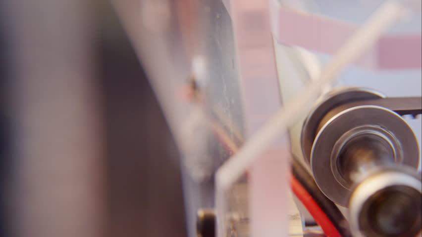 3D printer close-up  - 4K   Shutterstock HD Video #6021665