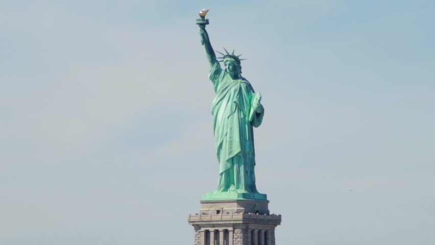 Statue of Liberty from boat | Shutterstock HD Video #6027497