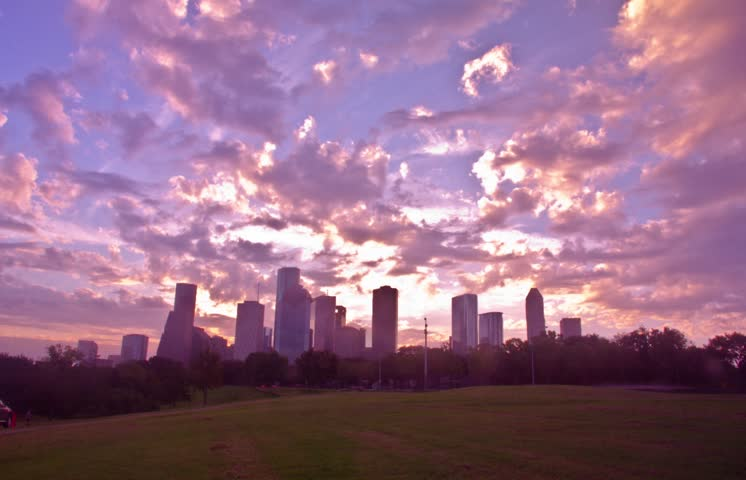 Houston Texas in the morning