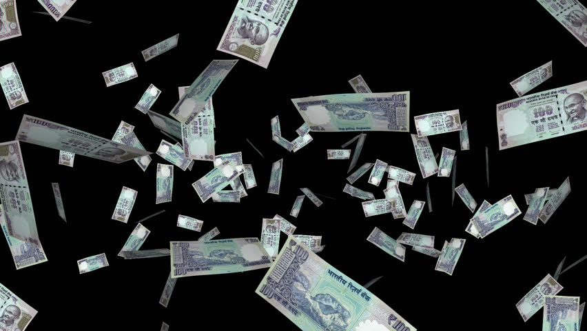 Money Explosion 100 Indian Stock Footage Video 100 Royalty Free 6049067 Shutterstock