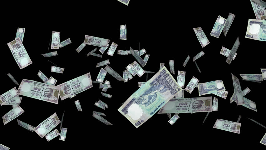 Money Explosion 100 Indian Stock Footage Video 100 Royalty Free 6049082 Shutterstock