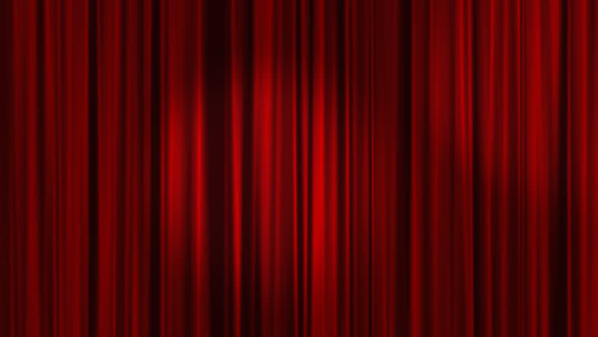 Red Curtains with spotlights that move back and forth and then the Curtains open. Alpha Channel is included. | Shutterstock HD Video #6081359