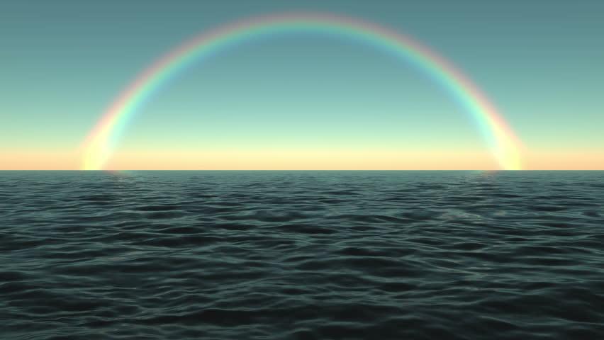Tropical Rainbow Ocean Waves Travel Stock Footage Video 100 Royalty Free 6085913 Shutterstock