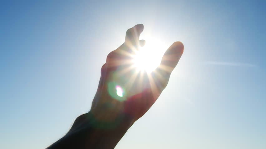 Hand to sun | Shutterstock HD Video #6089771