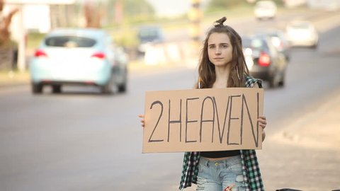 tan teen hitchhiker