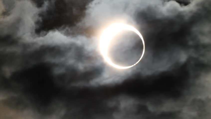 annular solar eclipse at 2012 in Japan