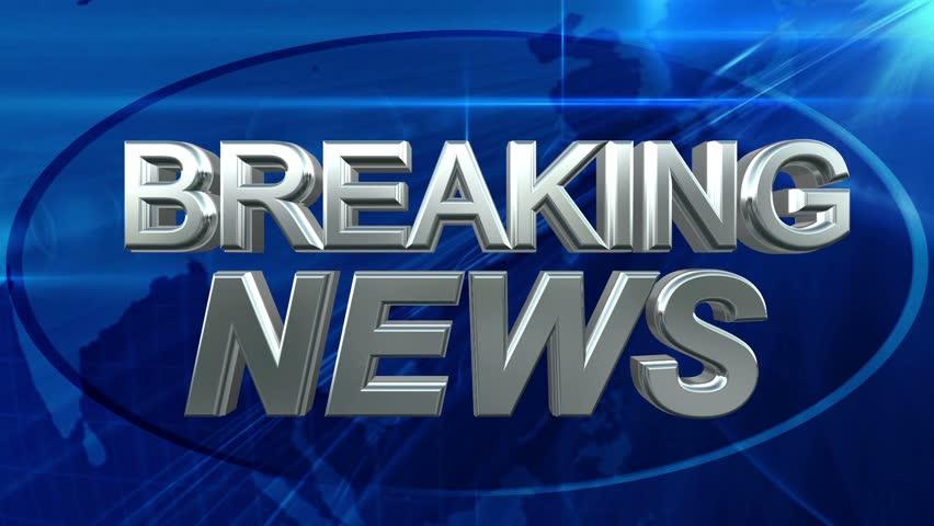 Breaking News - News Title Blue Background | Shutterstock HD Video #6137651