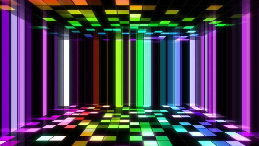 Disco Dance Floor Stock Footage Video