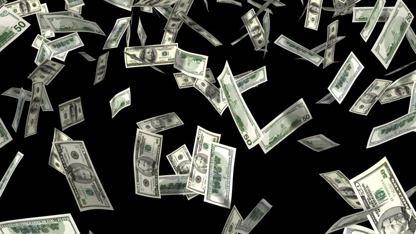 Money Rain 3d Animation With Stock Footage Video 100 Royalty Free 618916 Shutterstock