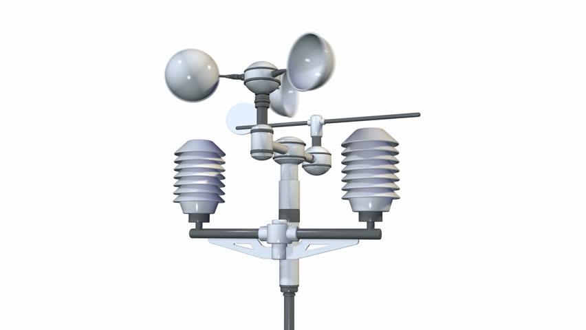 Meteorological Weather Station (measurement Equipment) Stock ...