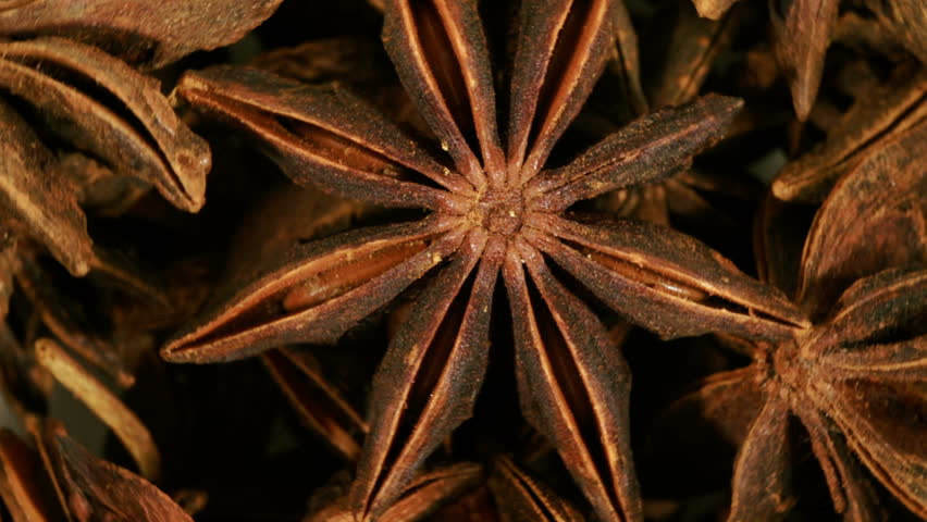 Loop able background of anise stars.