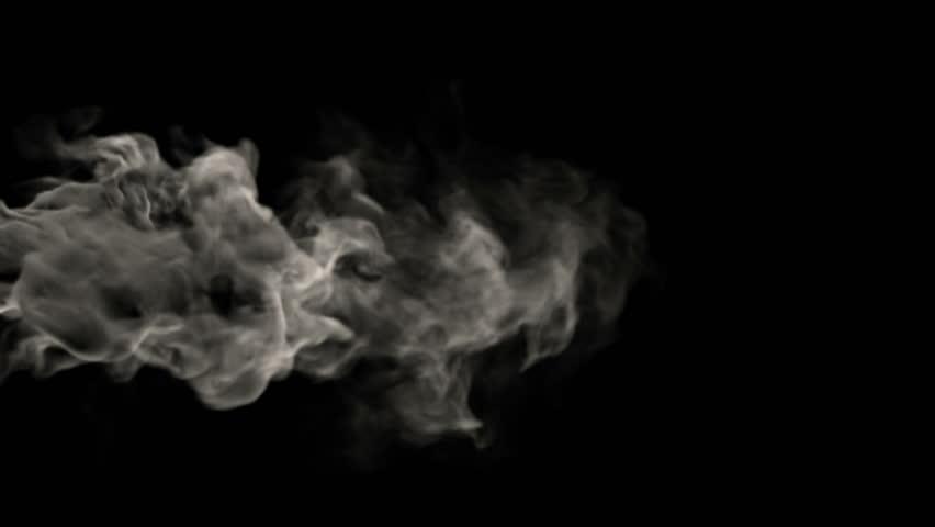 Smoke on black background #6230024