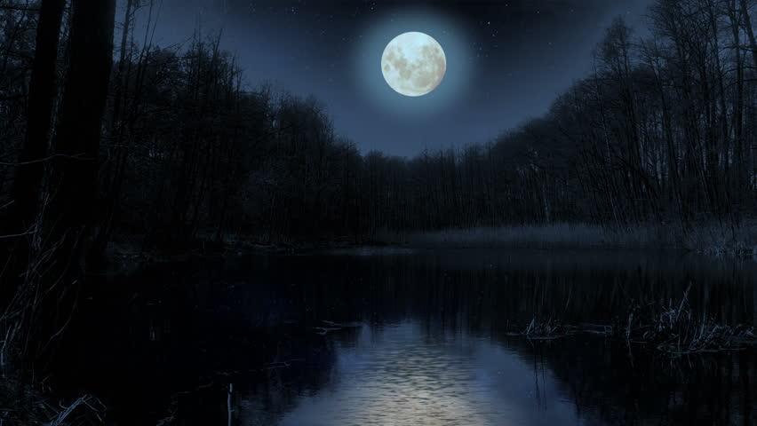многие картинки мрачные речек в ночи только представьте