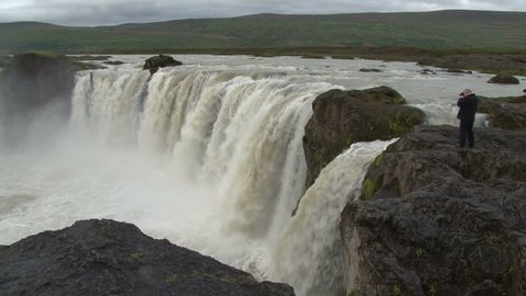 The Godafoss is one of the most spectacular waterfalls in Iceland.