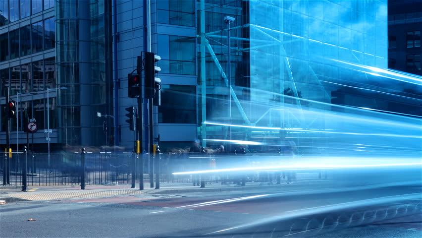 City street time-lapse | Shutterstock HD Video #6304883