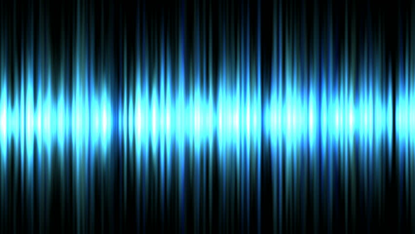 Blue waveform background (seamless loop) HD 1080p
