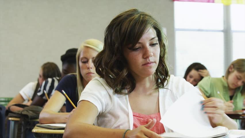 Medium Shot Students at school  | Shutterstock HD Video #6331010