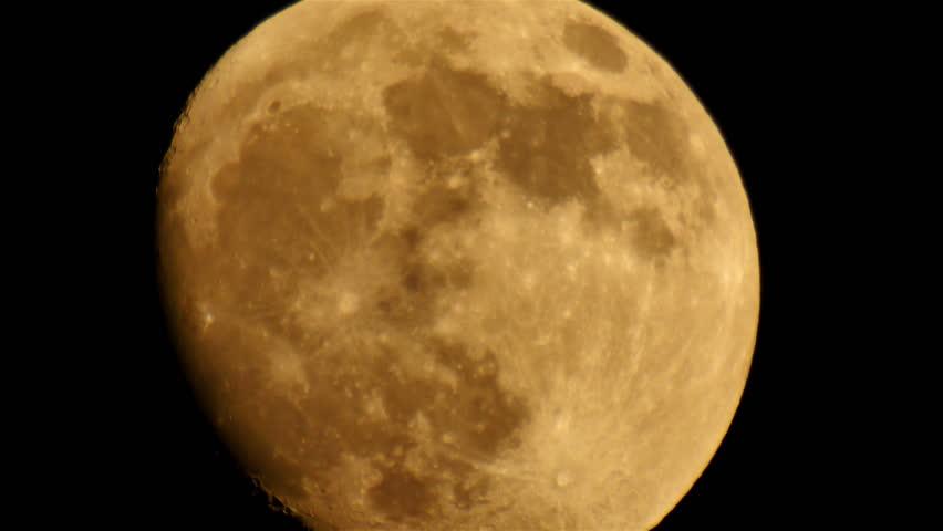 Moon LM01 Telescope Shot | Shutterstock HD Video #6375092