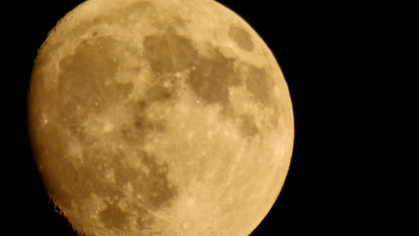 Moon LM07 Telescope Shot | Shutterstock HD Video #6375098