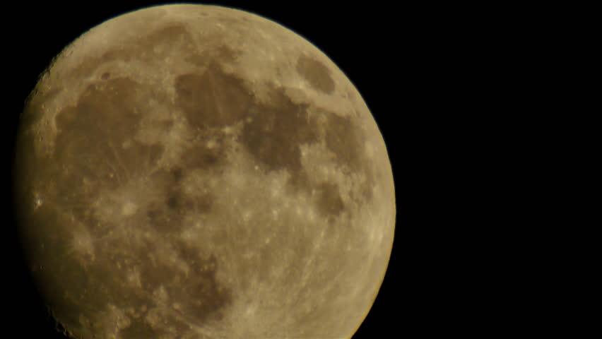 Moon LM14 Telescope Shot | Shutterstock HD Video #6375119