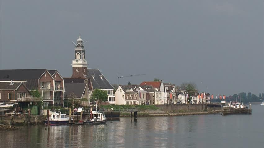 Lekkerkerk The Netherlands April Stock Footage Video 100 Royalty Free 6398780 Shutterstock