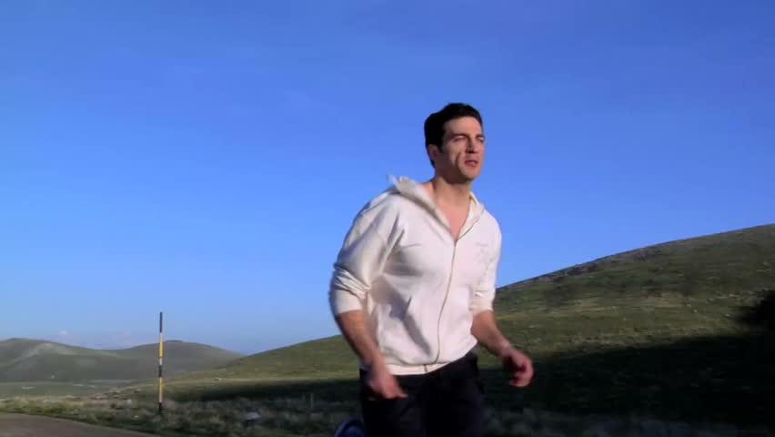 Young Man running | Shutterstock HD Video #644605