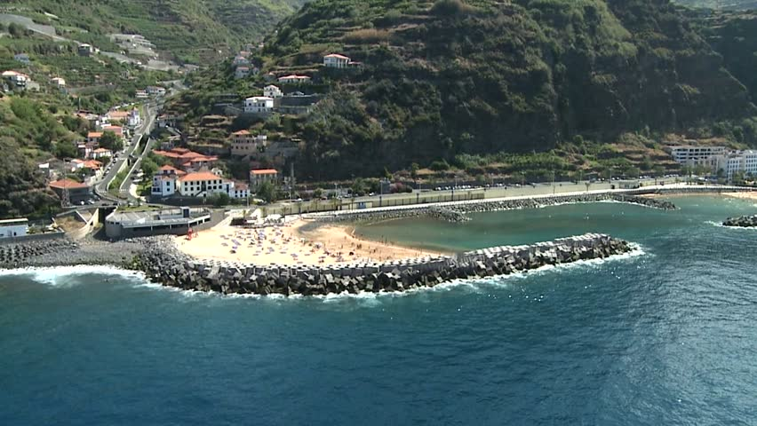 Aerial view on Madeira island - PORTUGAL  | Shutterstock HD Video #6468638