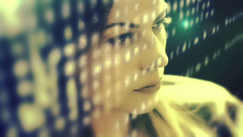 Woman developer hacking code | Shutterstock HD Video #6474356