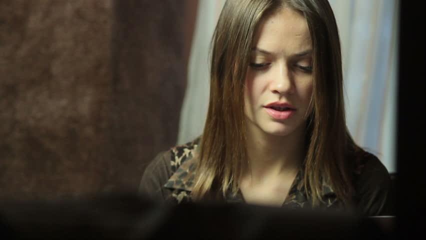 Depressed woman, having problems | Shutterstock HD Video #6494540